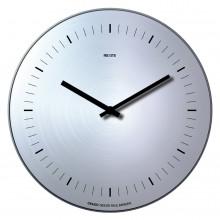 Orario - Finitura alluminio senza numeri - Orologio da parete